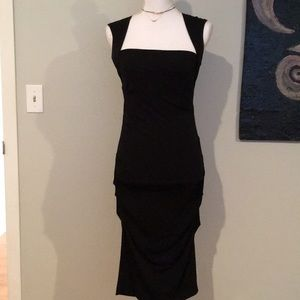 Nicole Miller Collection Dress with Rouching